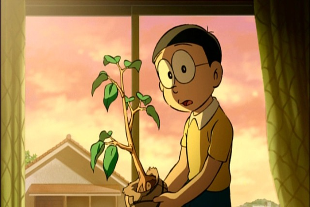 Doraemon Nobita And The Green Giant Legend Anime Review Drowning